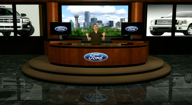 Eyecon Video Productions - Virtual Studio - Ford